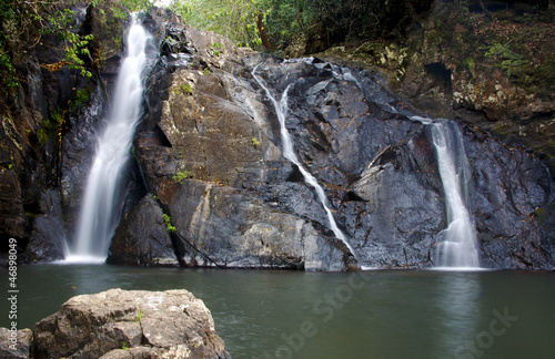 falls in Hypipamee National Park in far North Queensland