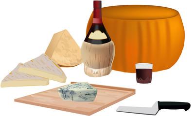 tagliere di formaggi - cheese platter