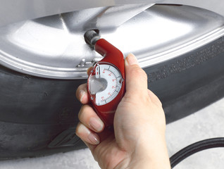 please check air tyre pressure  before long distance journey.