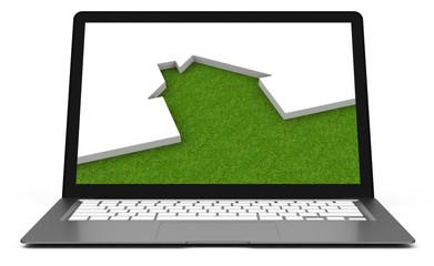 Die Immobilieanzeige