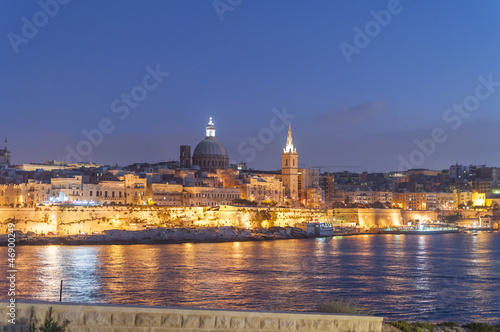 Valletta by night