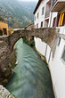 Pioraco, il fiume Potenza dal ponte Marmone