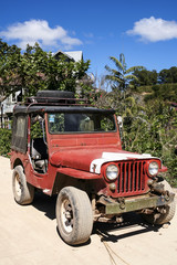 vintage american military vehicel philippines