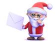 Santa receives a letter