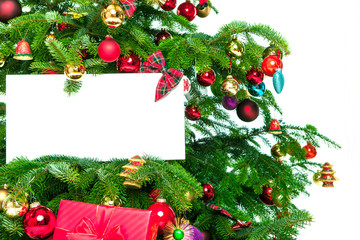 freiraum weihnachtsbaum