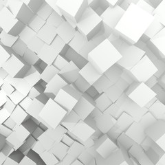 perspective  technology Cube Background