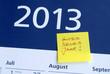2013, Neujahr, Silvester, Gutes Neues Jahr, Jahresanfang