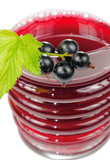 Juice of Berries in Glass with Blackcurrant