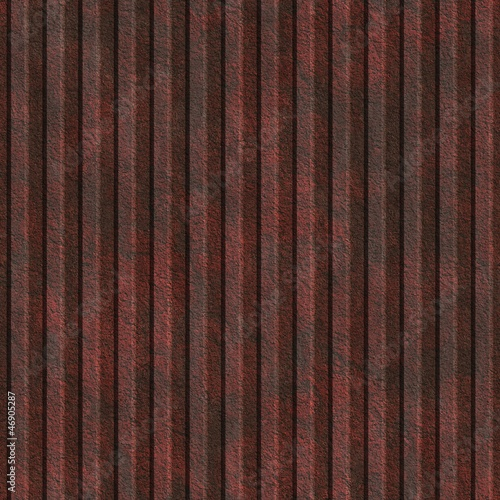 Corrugated metal. Seamless texture.