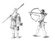 Antiquity : Warriors - Guerriers - Krieger