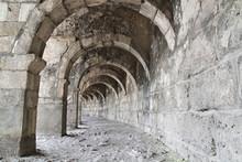 Starożytny rzymski teatr w Turcji