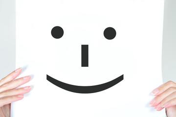 smile on social media