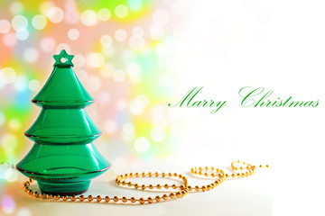 Elegant Christmas background- Christmas card