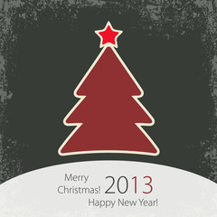 Christmas Tree Background Cover