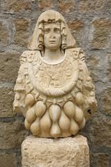 Goddess of abundance, Romanesque Art - Viterbo, Italy