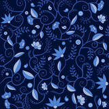 Floral seamlees pattern