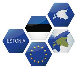 Vector Iconset *** EU Estonia