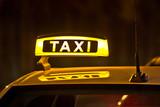 Fototapety Taxifahrt