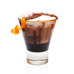 Coffee cocktail - winter drink