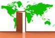Die grüne Weltkarte