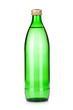 Glass bottle of sparkling water
