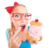 Fototapeta jedzenie - świeży - Kobieta