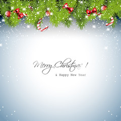 Sweet Christmas greeting card