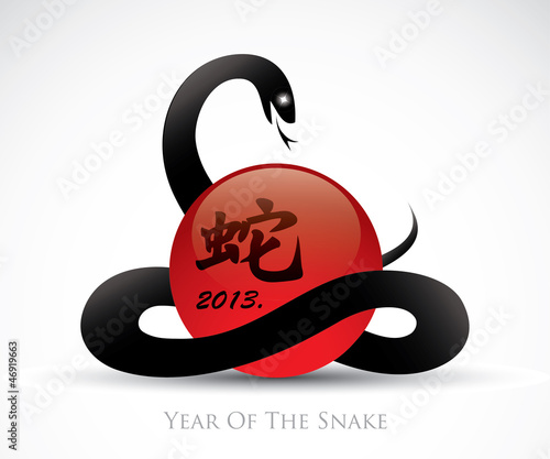 Symbol for the year of the snake