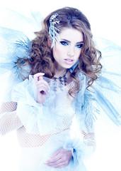 Fantasy winter queen