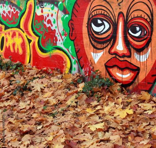Fototapeten,graffiti,graffiti,trauma,fassade