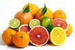 Pompelmo rosa,arance,mandarini e lime
