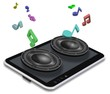 Music from tablet