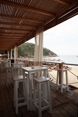 Beach bar, Skiathos