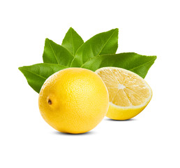 Juicy fresh lemon.