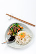 Stir-fried beef noodles