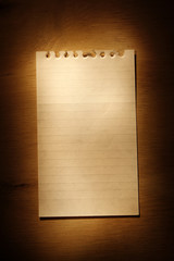 Note paper