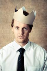 Crown man portrait