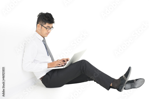 Laptop worker