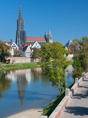 View on Ulm in september