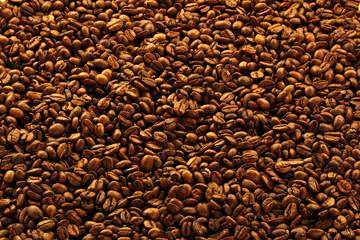 Kaffeebohnen Hintergrund Poster