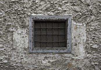 Old Barred Window