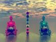 buddha and chakra