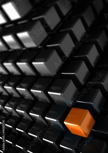 be unique concept, vertical business background