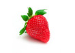 A fresh strawberry