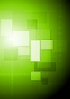 Bright green abstract tech design