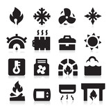 Heating icons