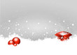 Grey Christmas Background Present