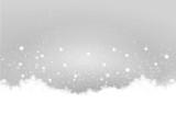 Grey Christmas Background