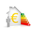 Haus Energiesparen Euro