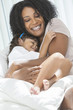 African American Woman Child Mother Daughter